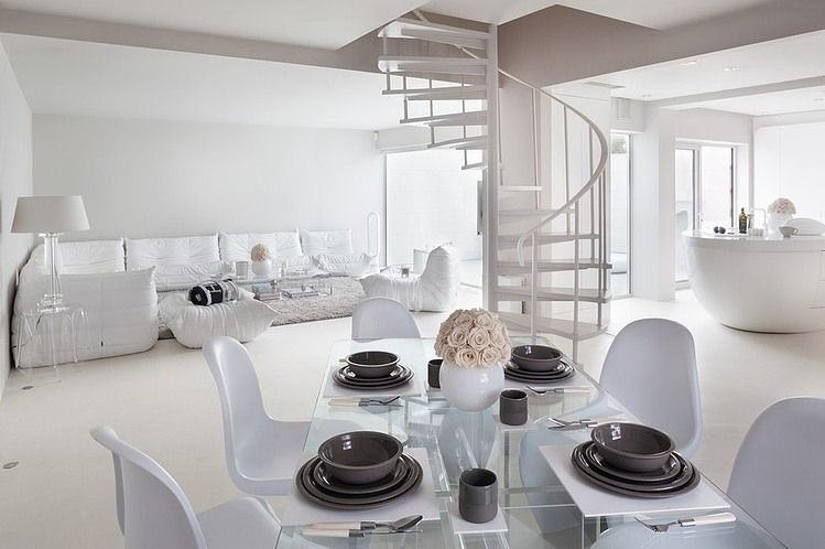 Situated in london united kingdom this amazing modern white house interior was designed by cochrane design visit got opinions also decoration pinterest rh