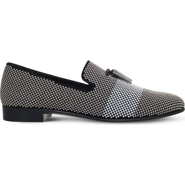 Giuseppe ZanottiSuede loafer with zips KENT McqO1MM