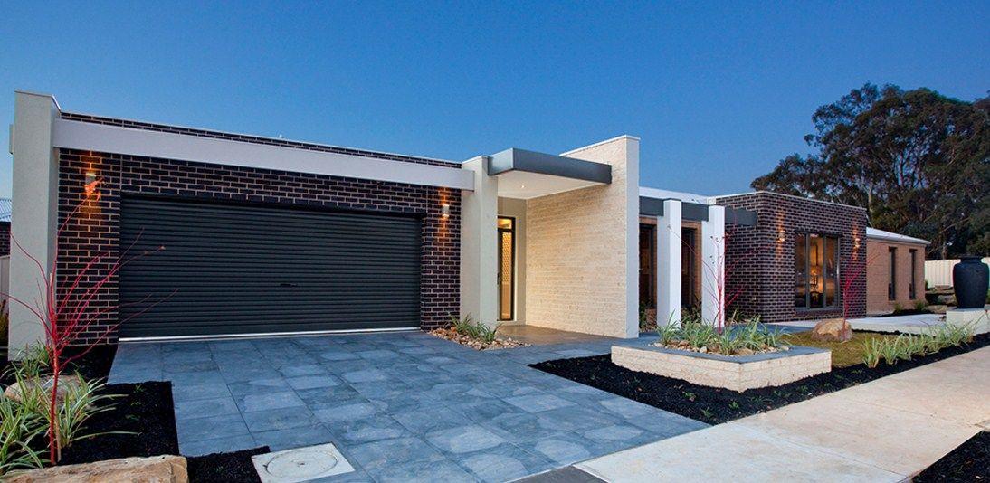Fachadas de casas de una planta casas pinterest for Fachadas de casas de una planta