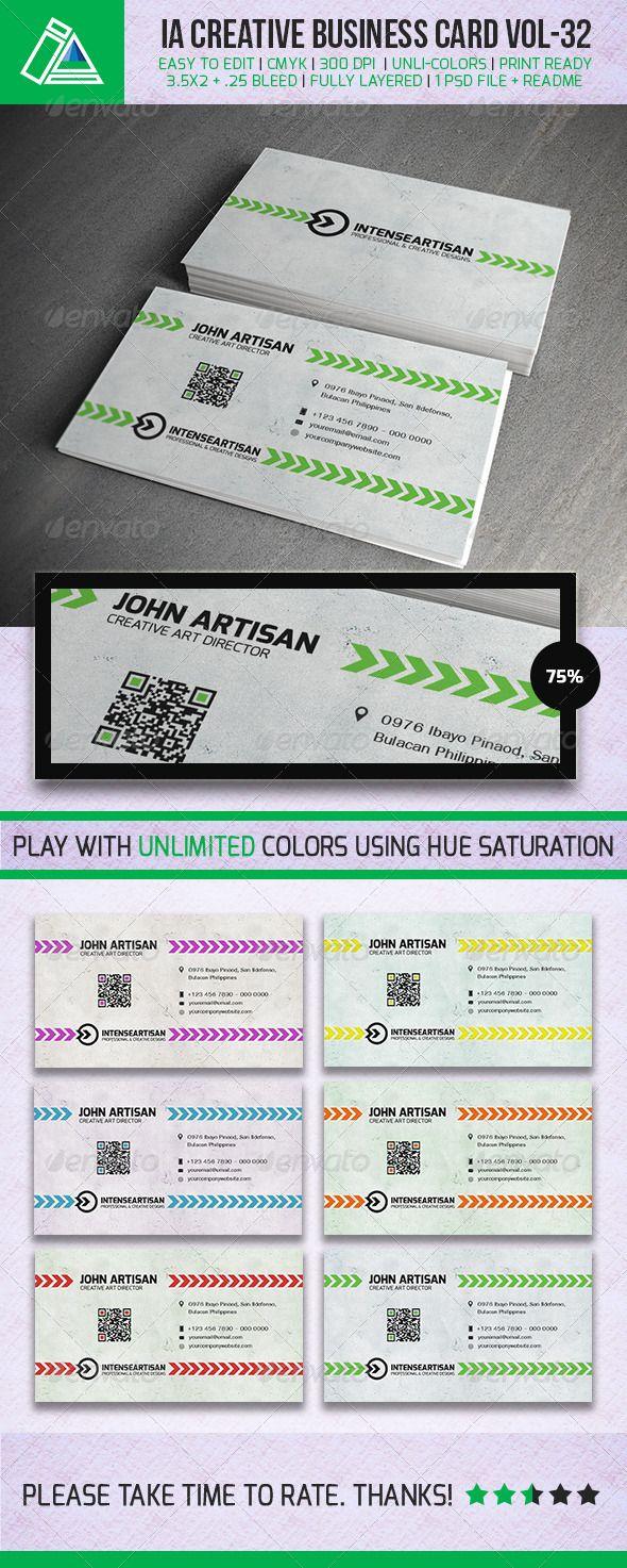 IntenseArtisan BUSINESS CARD VOL Business cards Creative