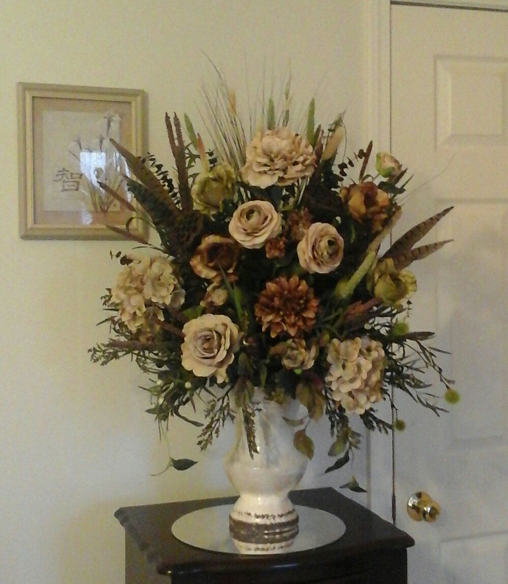 Floral arrangement large silk floral table centerpiece special floral arrangement large silk floral table centerpiece special ready to ship shipping included mightylinksfo