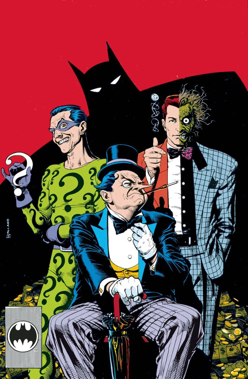 Riddler, TwoFace & The Penguin Brian Bolland Comics