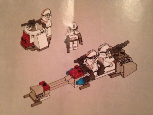 Lego star wars #clone #speeder set 7655 #manual only,  View more on the LINK: 	http://www.zeppy.io/product/gb/2/111986831087/