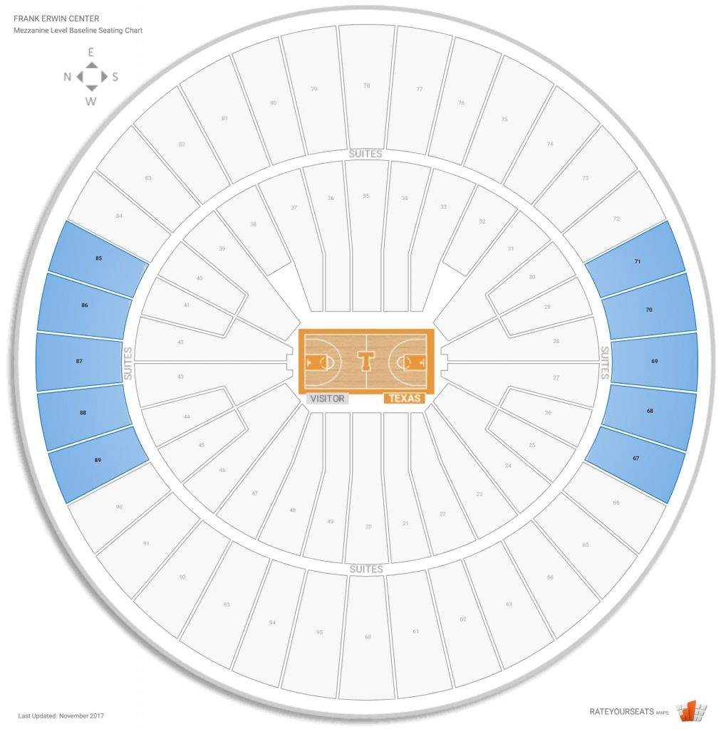 Erwin Center In 2020 Seating Layout