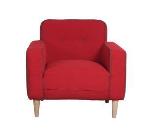 FLYfauteuil Rouge Passepoil Gris Beaux Meubles Pinterest - Fly fauteuil
