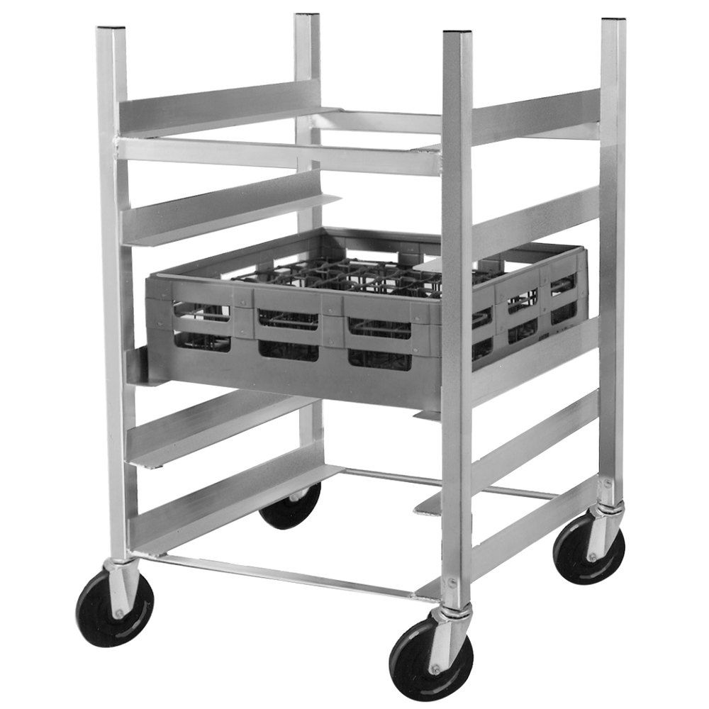 Channel Grr 63 5 Shelf Glass Rack Cart With 6 Spacing Glass