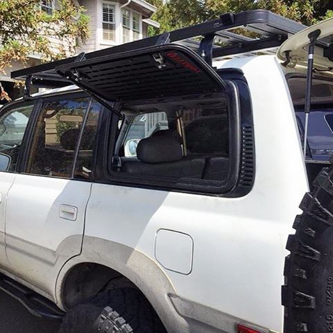 Yodateq Designs On Instagram Bbimson Just Finished His Install Of The Yodateq Gull Wi Toyota Land Cruiser 100 Land Cruiser Fj80 Toyota Land Cruiser