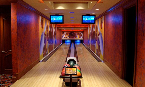 New Bowling Alley In Basement