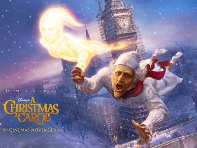 Jim Carrey Christmas Carol.A Christmas Carol Jim Carrey Wallpaper Christmas