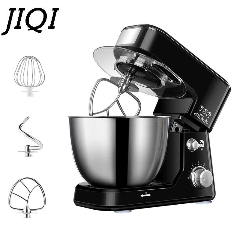 Jiqi 4l stainless steel bowl electric stand food mixer