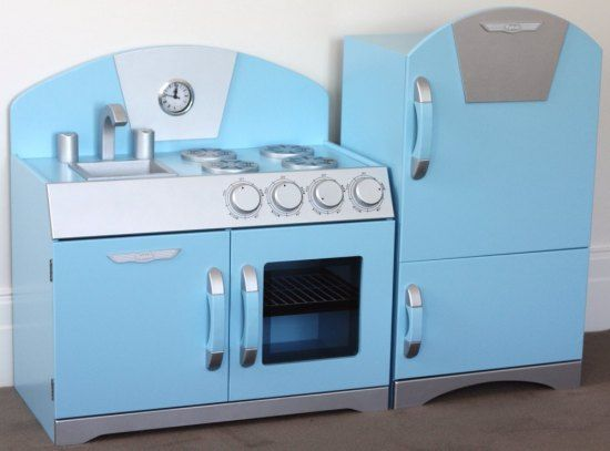 Blue Wooden Play Kitchen buy blue wooden toy kitchen |pretend play toy kitchen sets | kids