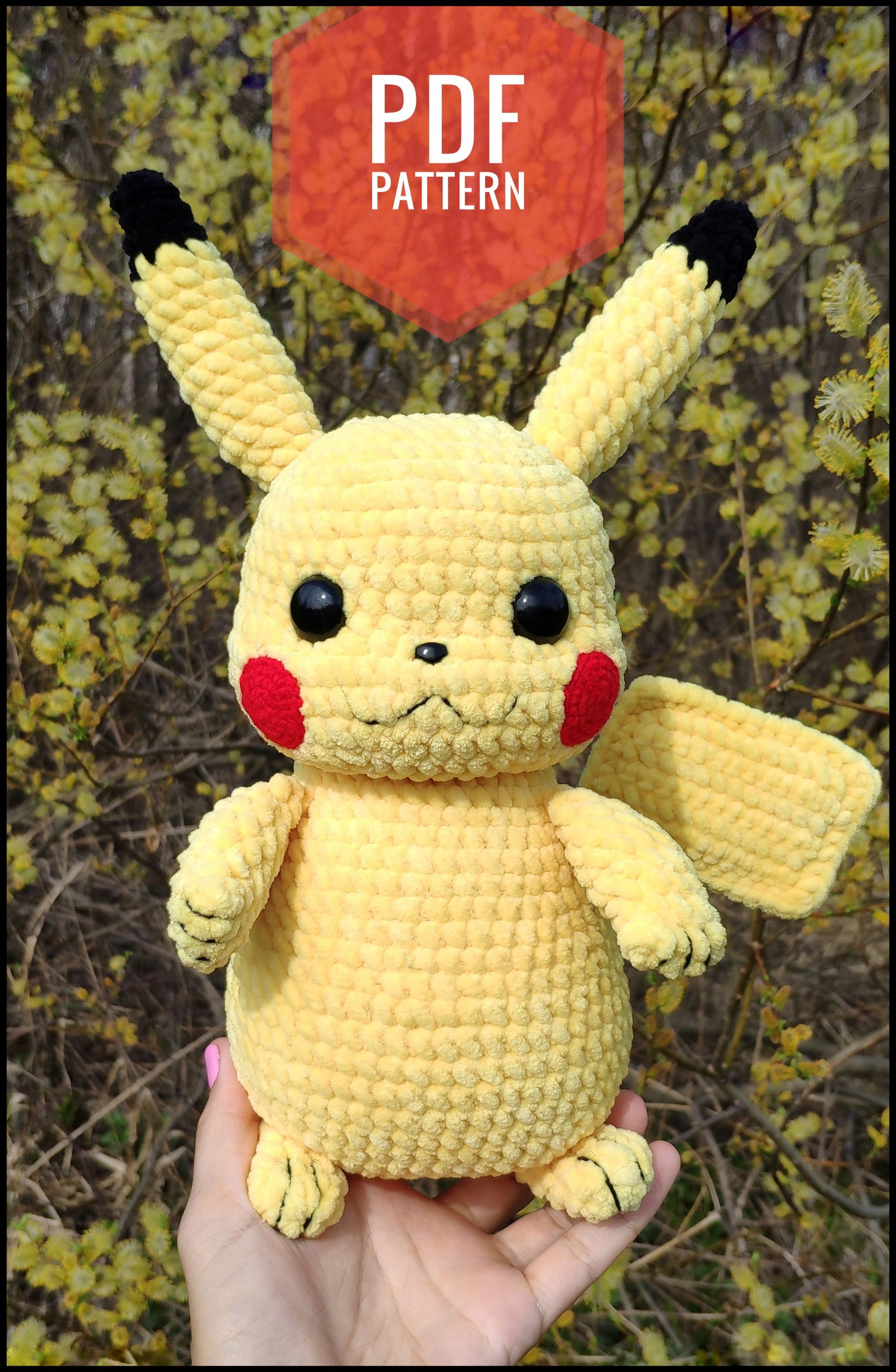 Pokemon Amigurumi | Crochet projects, Crochet crafts, Crochet pokemon | 3071x2006