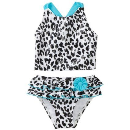Flapdoodles Toddler Girls Leopard Chic Two Piece Suit