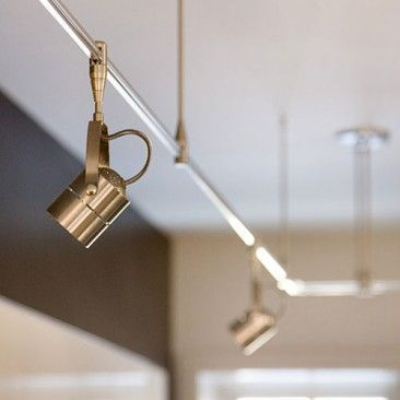 Track Lighting Hampton Bay Kitchen Contemporary With Regard To Decorating From