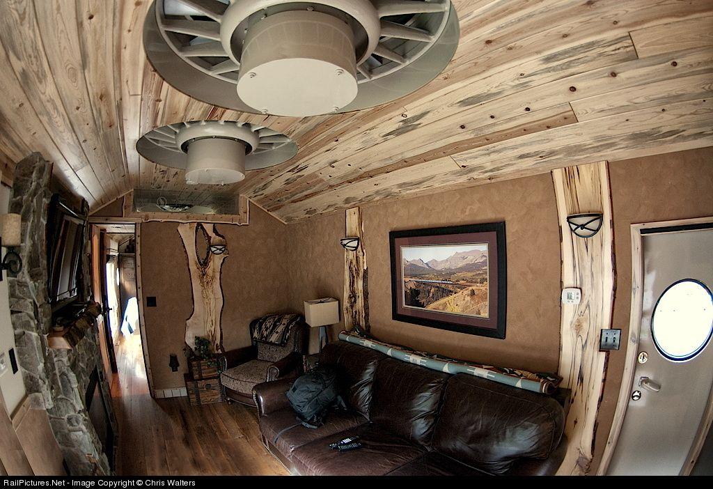 An Interior Shot Of The Luxury Locomotive Lodge At Izaak Walton Inn Essex Montana This Shows Main Lounge Area