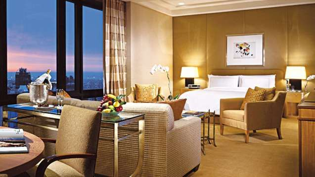 Explore The Panoramic Studio Suite With Terrace At Four Seasons Hotel New York Offering Generous Space And Views Of City Or Central Park From Two