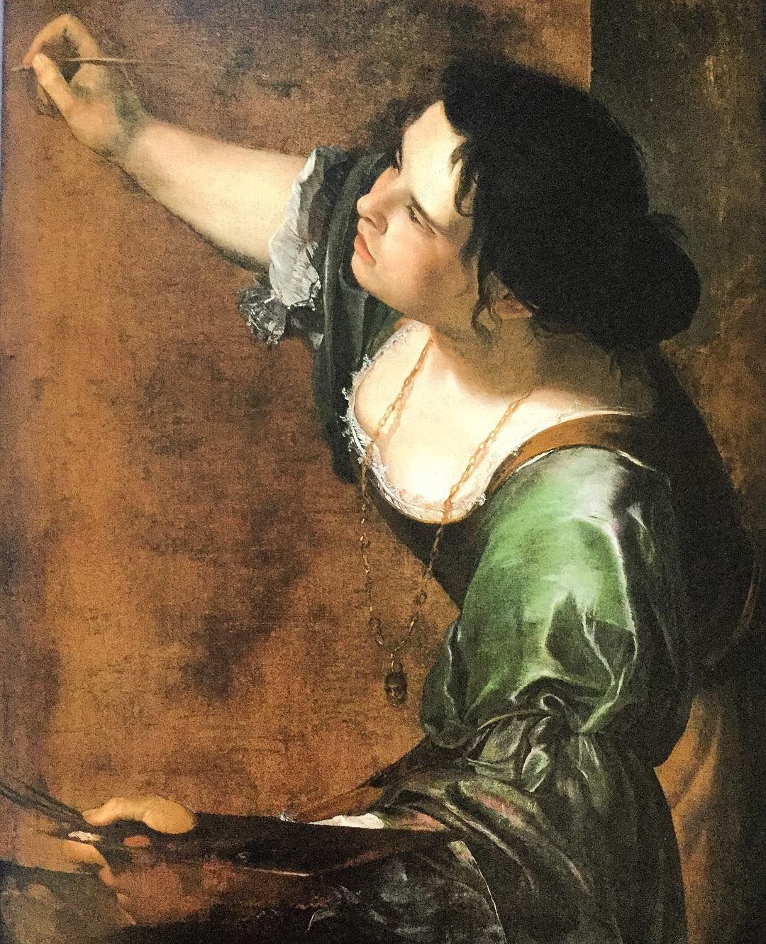 Artemisia Gentileschi 'Self Portrait as the Allegory of