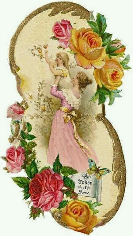 Pin By Jolly Bloom Postcards Vint On Deko Ir Skrebinimo Medziaga Vintage Illustration Vintage Postcards Decoupage Vintage