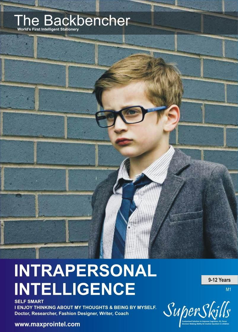 kyutu.com provides Intrapersonal Intelligence Workbook for 9 to 12 ...