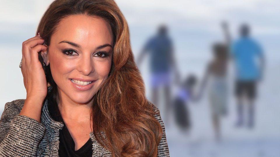 Estefania Kuster Happy Family So Geniesst Die Bohlen Ex Ihr Familienidyll Promi News Entertainment Bohlen