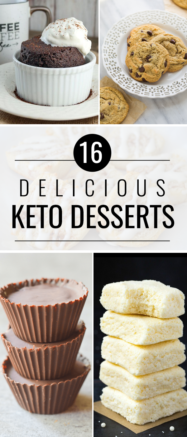 16 Delicious Keto Dessert Recipes You Need in YourLife