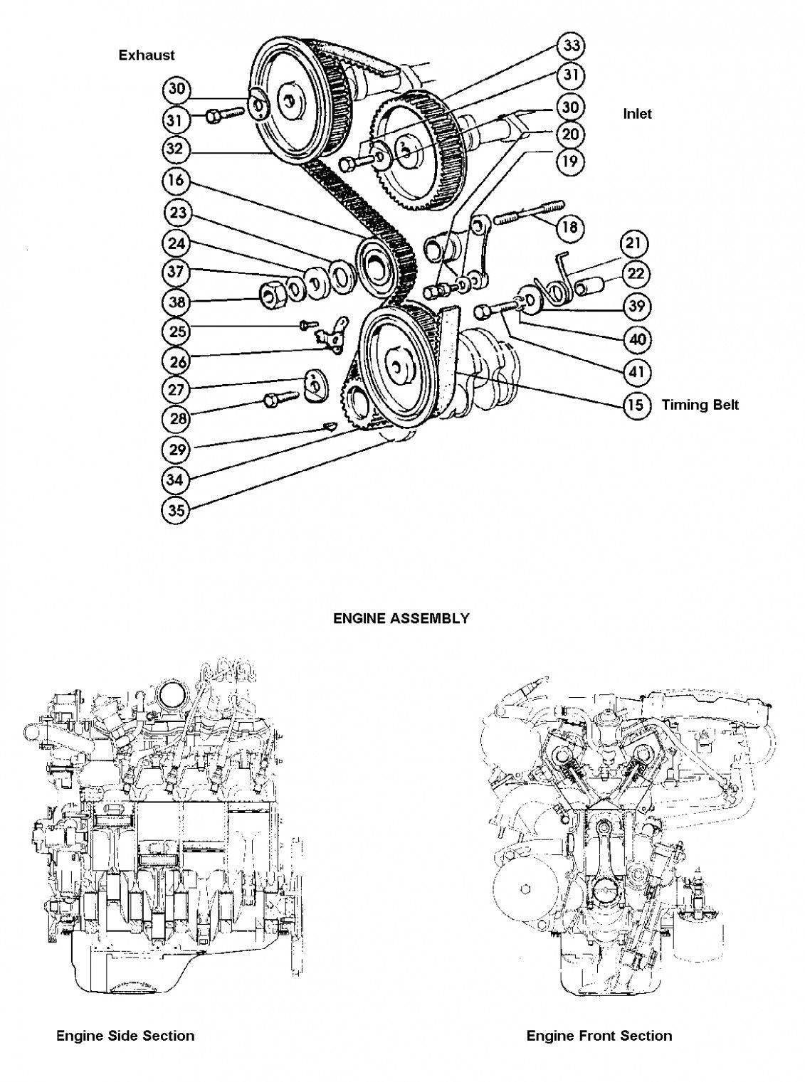 Engine Timing Gear Diagram Di 2020