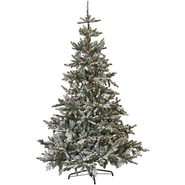 Martha Stewart Christmas Tree Topper: Martha Stewart Living? Snowy Norwegian Spruce Pre-Lit