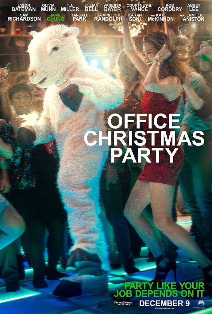 office christmas party movie poster no11