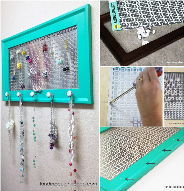 100 DIY Jewelry Organizers Storage Ideas Full Tutorials Diy