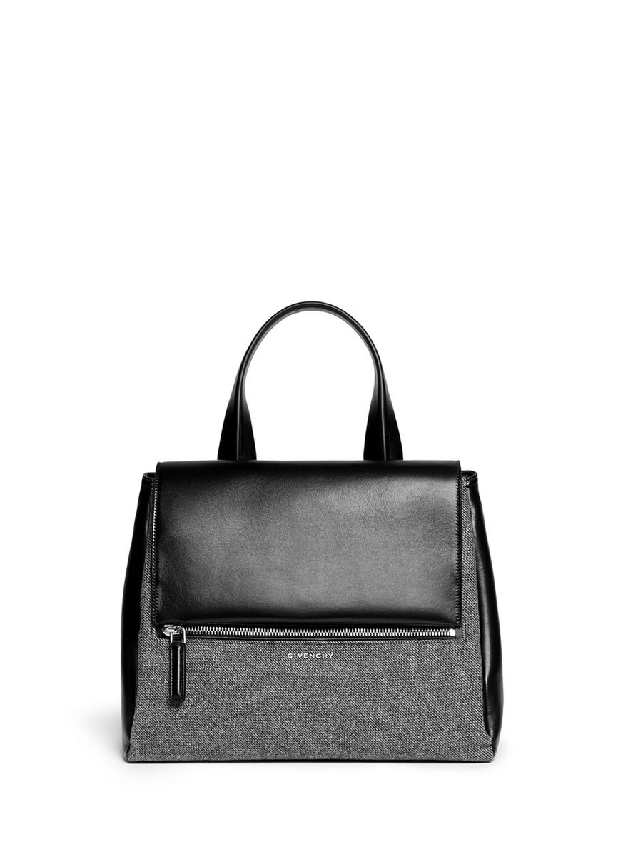 cb2d86d9759 Givenchy | 'Pandora Pure' medium wool leather flap bag | Lane ...