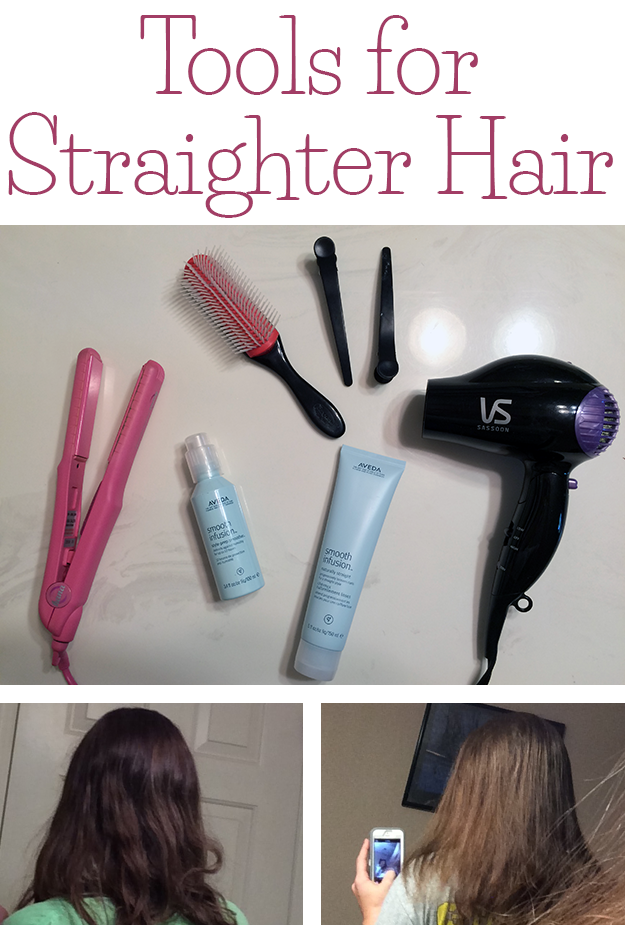 Tools for straighter hair #AvedaNaturallyStraight