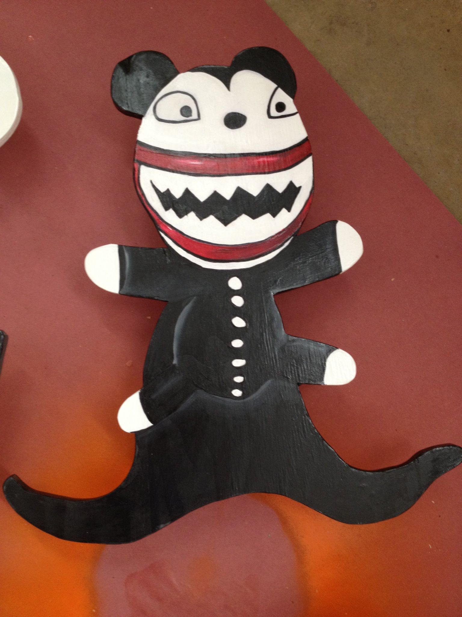 Scary teddy nightmare before Christmas decoration.   <3   Pinterest ...