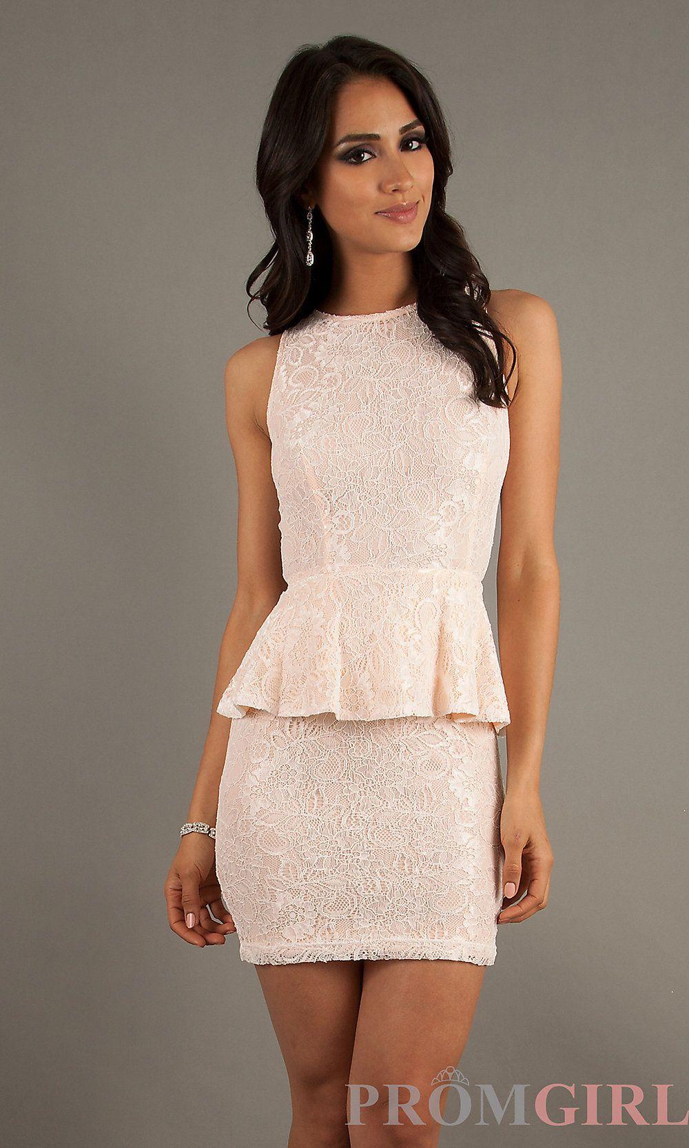 Semi Formal Peplum Dresses