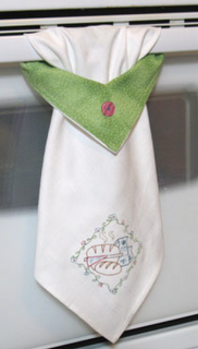 Kitchen Towel. Click For Pattern U0026 Instructions. Cute!