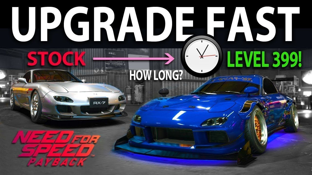Need for Speed Payback Speed Card Guide to FULLY Upgrade Drift Cars ...