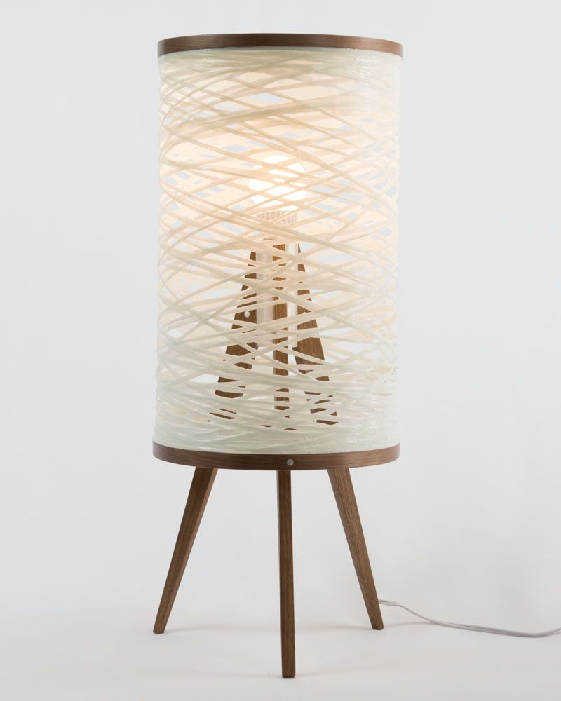 The Tripod Table Lamp was created to fuse traditional and