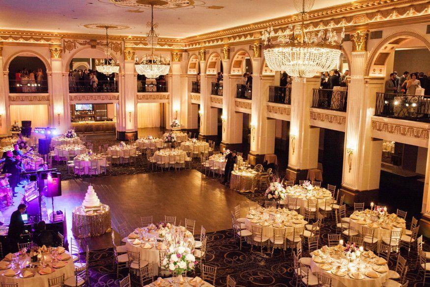 Wedding Reception At Ballroom At The Ben In Philadelphia Photos By