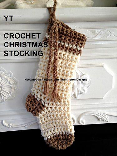 Ravelry Yt Christmas Stocking Pattern By Emi Harrington Crochet