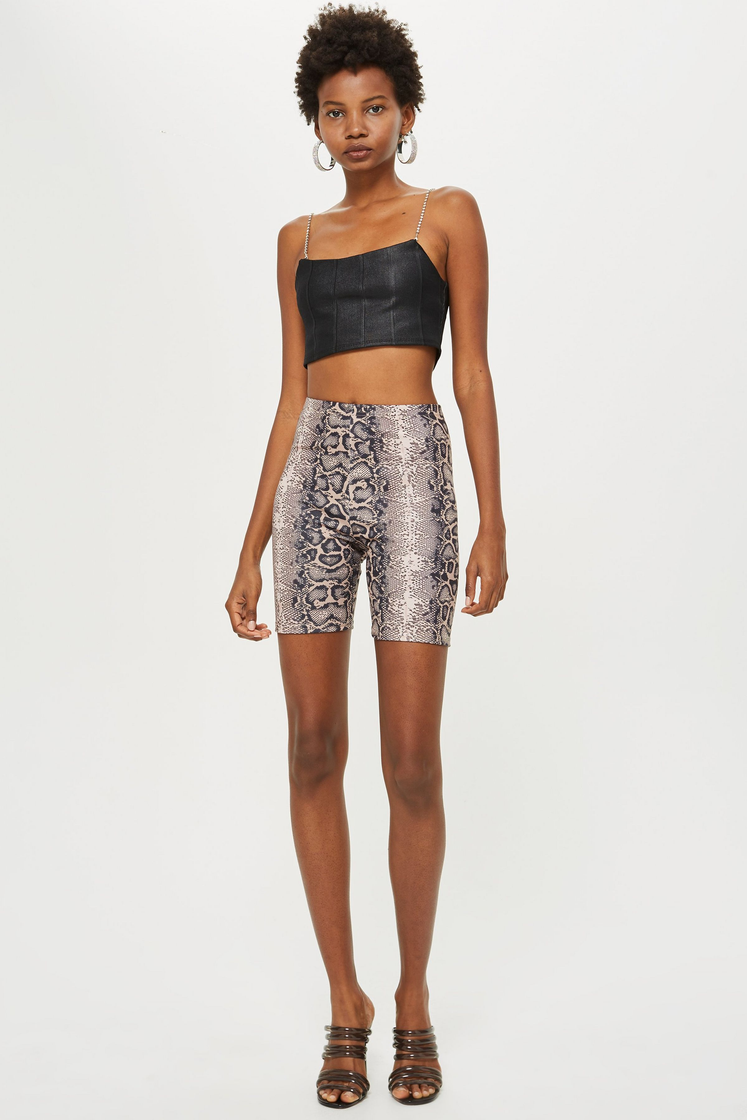 3b5a97b23ef Snake Print Cycling Shorts by We Own The Night | Clothes | Cycling ...