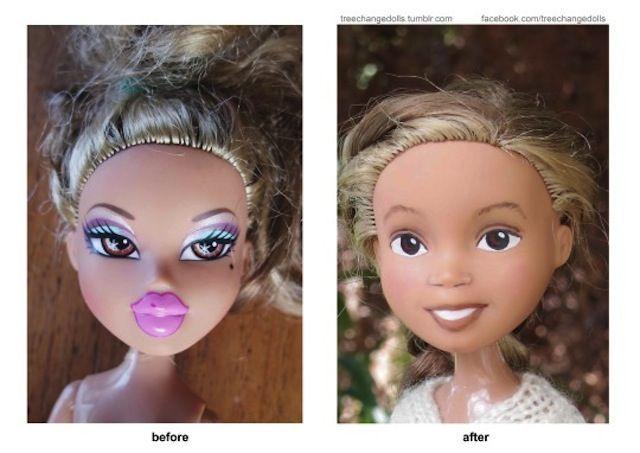 bratz doll without makeup