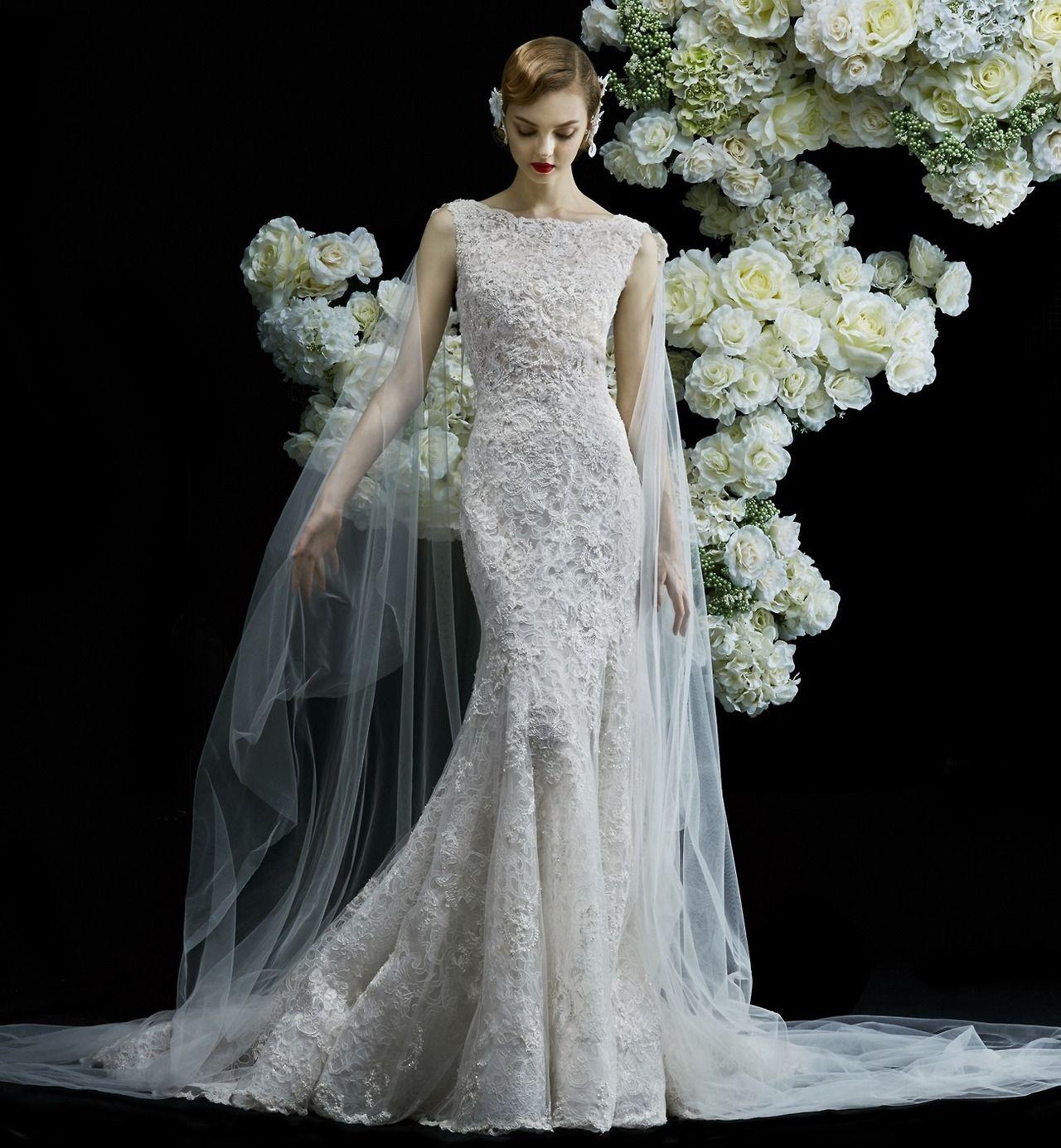 Designerbridalroom ucannasul y a sophisticated mermaid wedding