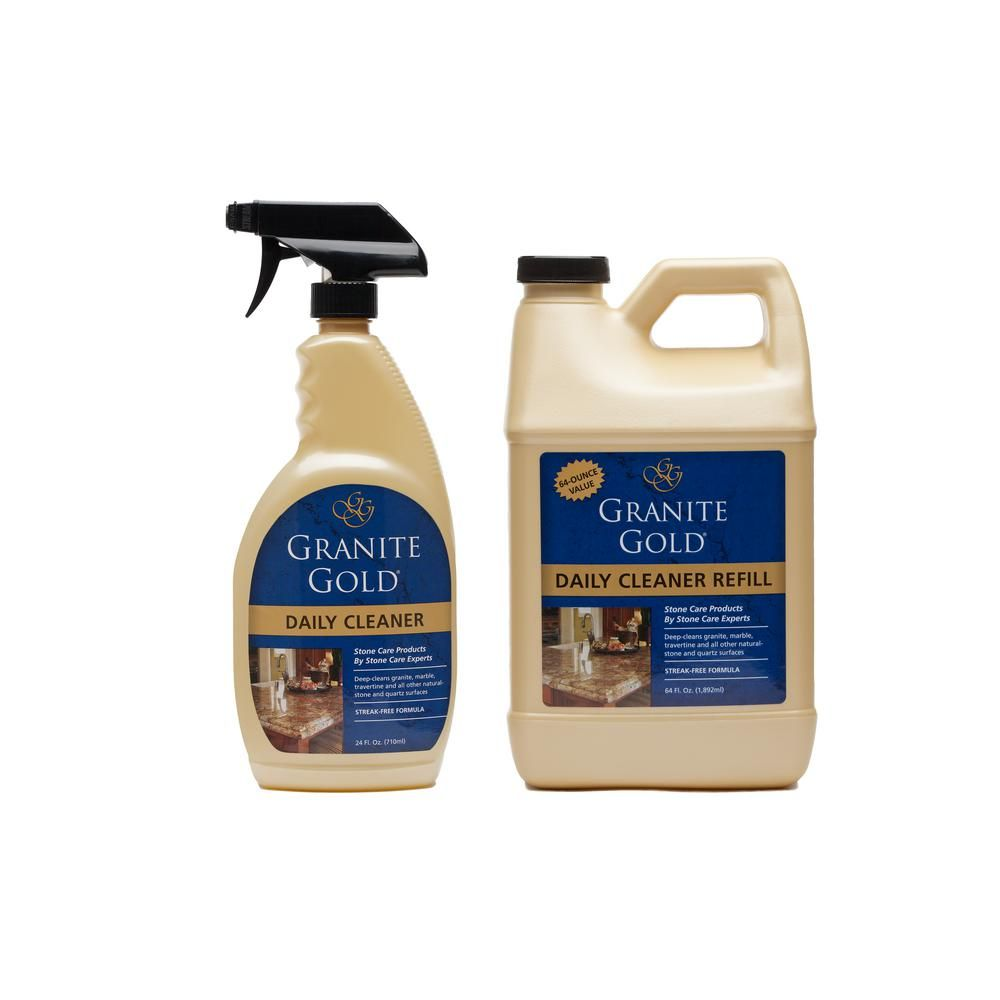 Granite Gold Daily Cleaner Value Pack Daily Cleaning Granite