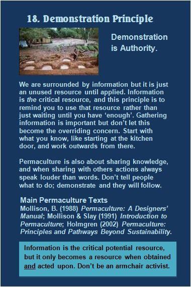 Attitudinal Principles – Permaculture Principles