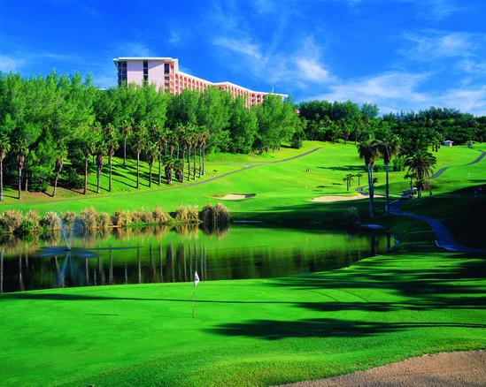 Fairmont Southampton golf course in Bermuda
