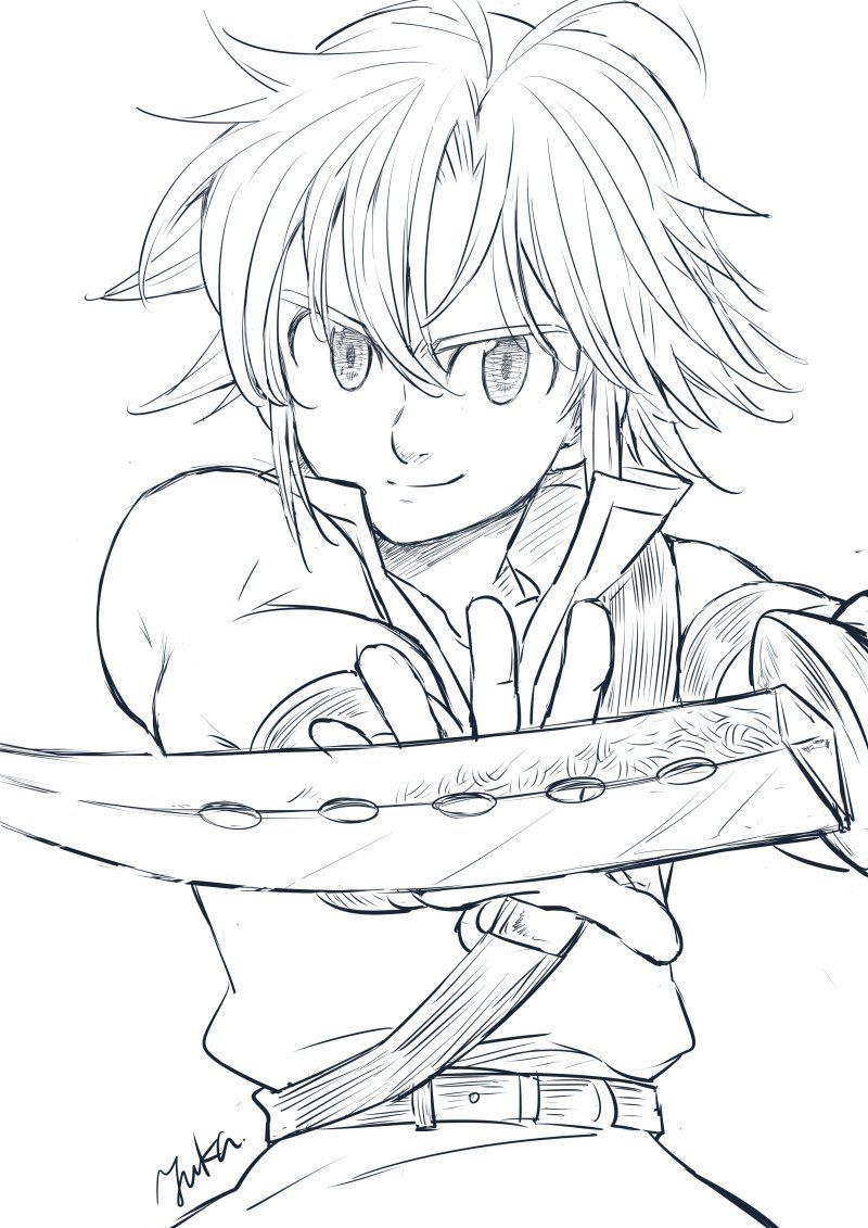 yuka on Twitter | Seven deadly sins anime, Seven deadly ...