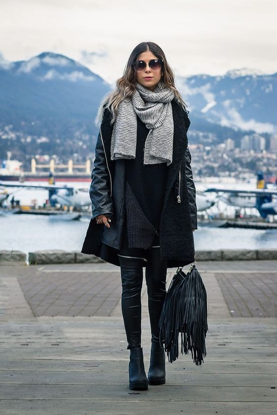 exceptional outfits mit schwarzer leggings youtube