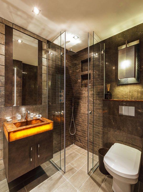 modern shower enclosures small bathroom design ideas simple for ...