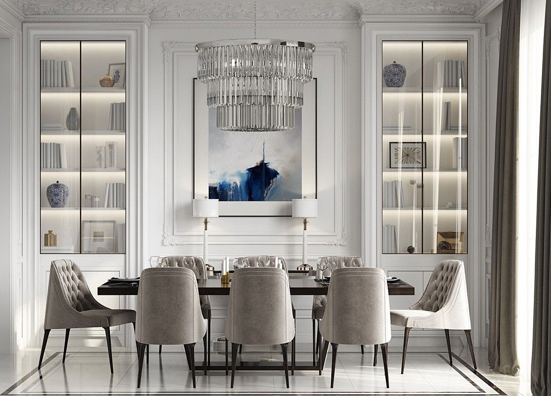 30 Remarkable Luxury Dining Rooms Design Ideas Pinzones Interior Design Dining Room Dining Room Interiors Luxury Dining Room
