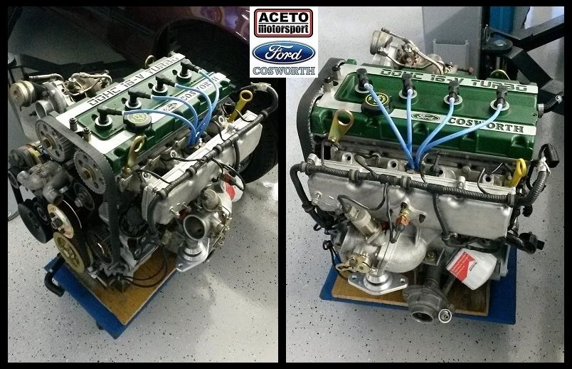Ford Rs Cosworth Yb Engine Ready By Aceto Motorsport Ford