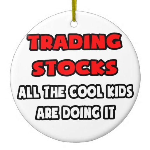 funny stock trader shirts and gifts ornament